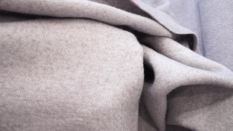 Пальтовая ткань БУКЛЕ Цвет: Благородный серый