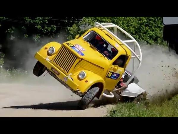 Rally trucks. GAZ-51, GAZ-53. Ралійні вантажівки ГАЗ-51 та ГАЗ-53.