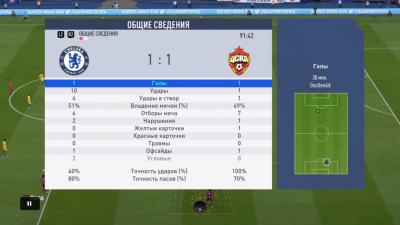 3 Тур Dreamer esports 1-1 FC CSKA Ural