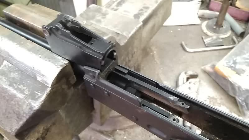 Люфт внешнего ствола лст 2.
