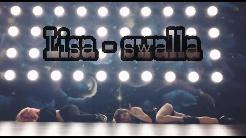 SWALLA - BLACKPINK LISA SOLO DANCE - Tim and Soohyun Dance Cover