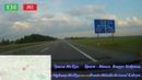 Шикарная трасса М1 Е30 Брест - Минск -Москва. Объездная дорога вокруг Кобрина. группа: avtooko сайт: : avtore