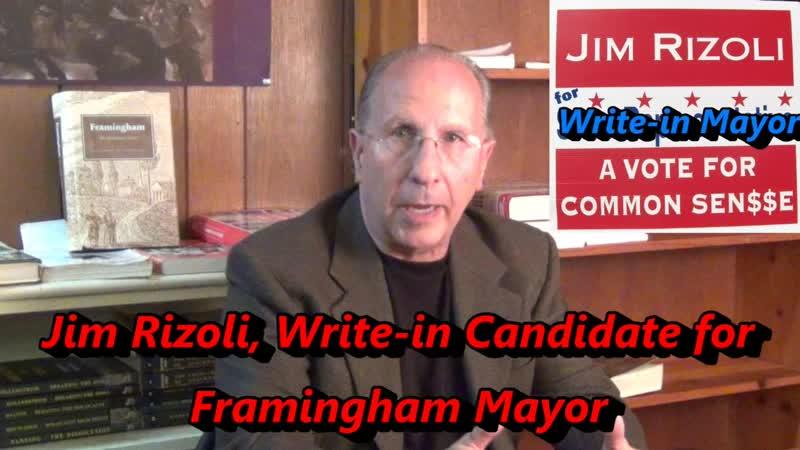 Jim Rizoli Write in Mayor July 2017 Mock Debate