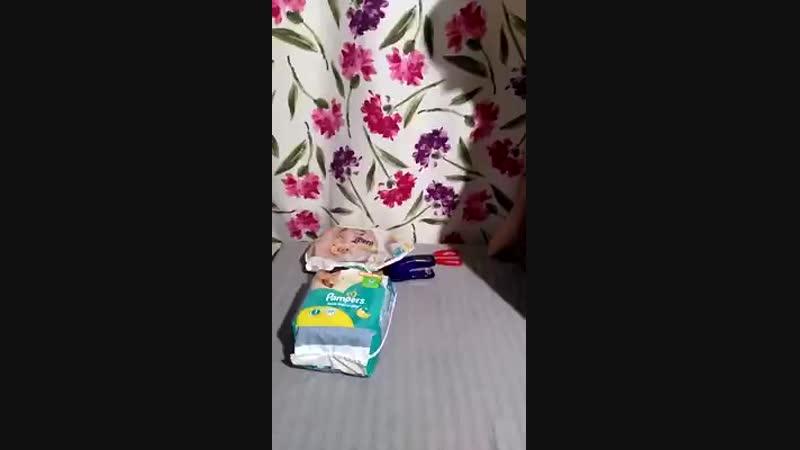 Как из памперса сделать пояс для кобеля. Буду рада,если кому-то из новичков это видео поможет ) H.mp4