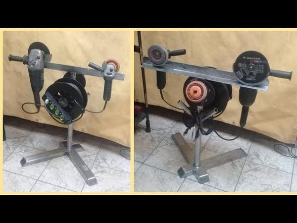DIY -Pedestal para Extensión Eléctrica COMBO