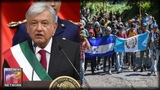 Mexicos New President QUICKLY Signs Legislation Aimed at SHUTTING DOWN Migrant Caravans