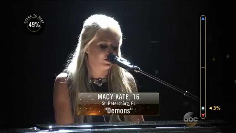 Rising Star - The Duels - Macy Kate Sings Demons