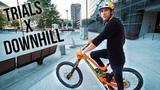 Trial on Downhill Bike SickSeries#49