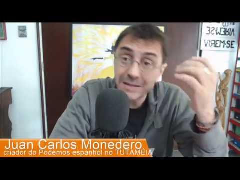 TUTAMÉIA entrevista Juan Carlos Monedero, fundador do Podemos