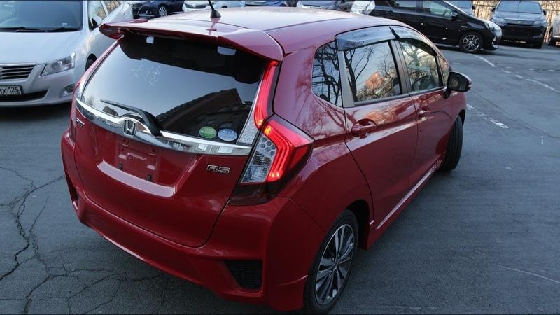 Honda Fit Hybrid S Package Приехала эксклюзивная посылка из Японии