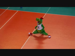 Талисман Локомотива )))) Это нечто ))) Все на волейбол!!!