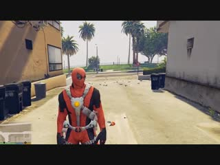 ДЭДПУЛ ОЖИВИЛ РОСОМАХУ ЛОГАН В ГТА 5 МОДЫ! DEADPOOL AND LOGAN ОБЗОР МОДА В GTA 5 ИГРЫ ВИДЕО MODS