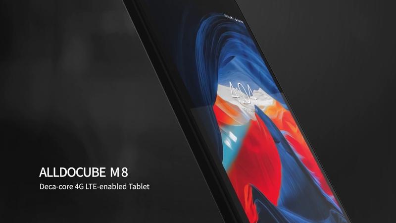 ALLDOCUBE M8--Helio X27 with 4G LTE Connectivity