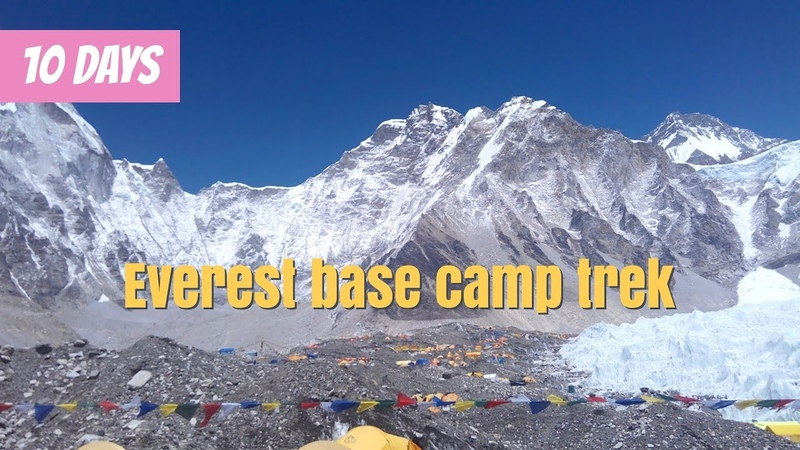 Easiest way to Everest base camp trek 10 days