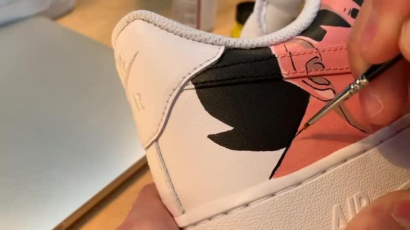 Custom Nike Air Force DBZ