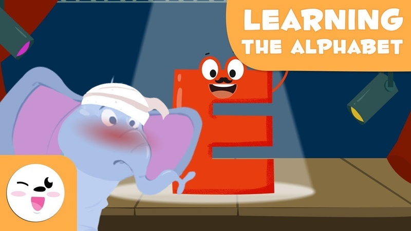 Learn the letter E with Elephant Edd - Learning the Alphabet - Phonics For Kids
