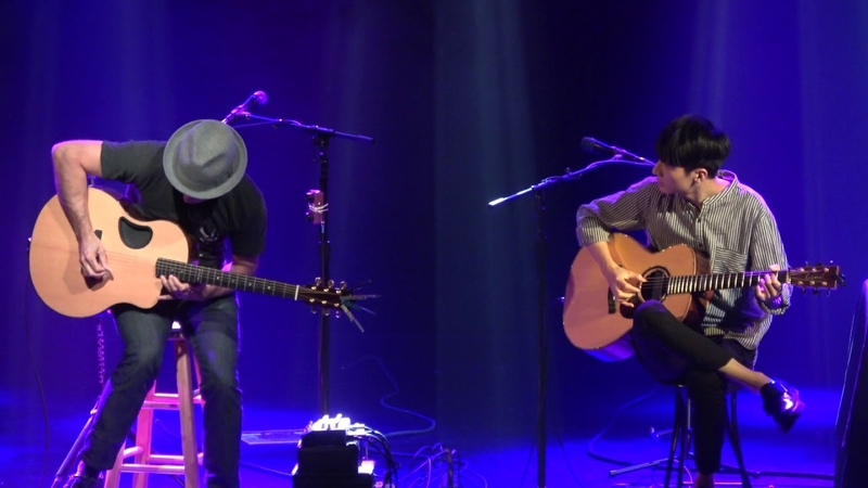 It's Time / With or Without You - Trace Bundy and Sungha Jung (live)