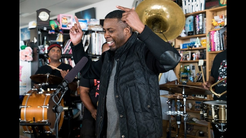 GZA The Soul Rebels NPR Music Tiny Desk Concert