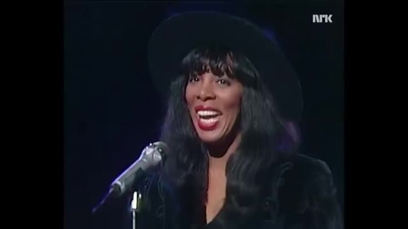Donna Summer This Time I Know It's For Real Live 1989