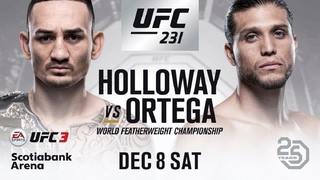 ОБЗОР UFC 231: МАКС ХОЛЛОУЭЙ - БРАЙАН ОРТЕГА I ПРЯМАЯ ТРАНСЛЯЦИЯ ОНЛАЙН