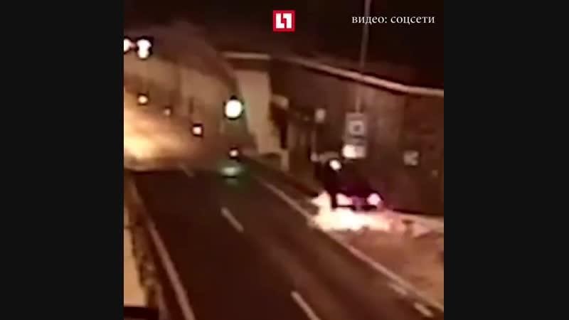 Водитель из Словакии после сумасшедшего трюка не получил ни одного перелома djlbntkm bp ckjdfrbb gjckt cevfcitlituj yt