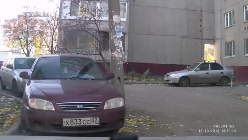 Крупная Авария в Сипайлово г Уфа 13 10 12