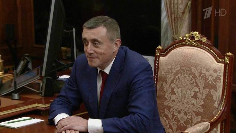 Владимир Путин своим указом назначил врио губернатора Сахалинской области Новости Первый канал