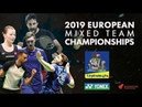 Denmark (Anders Antonsen) vs Germany (Max Weisskirchen) - Final- European Mixed Team C'ships 2019