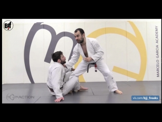 Marcelo Garcia - Single Leg Counter- Collar Control Ankle Pick Takedown- Taking the Back from Front Headlock #Mgarcia