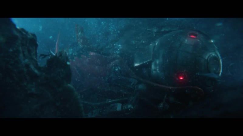 Мег: Монстр глубины.Новая атака на батискаф.Сюин в одиночку отправляется на спасение экипажа