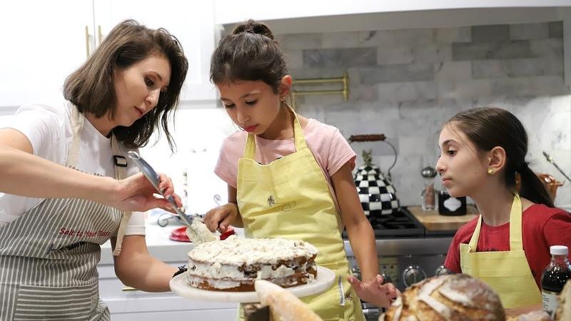 Գազարով Տորթ - Լիլիթի Բաղադրատոմսը - Heghineh Cooking Vlog 32
