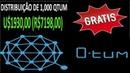 【HASHQUARK MINERADORA】☛Está distribuindo mil Qtum grátis | Uma moeda já bem valorizada e listada