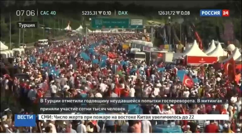 Новости на Россия 24 • Алло, Эрдоган слушает! Турецкие сотовые компании поставили голос президента вместо гудков