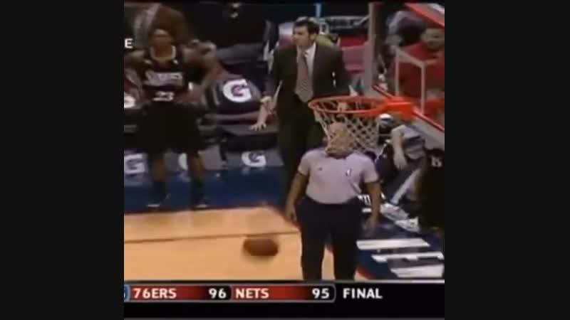 Возможно самый сумасшедший геймвиннер в истории НБА