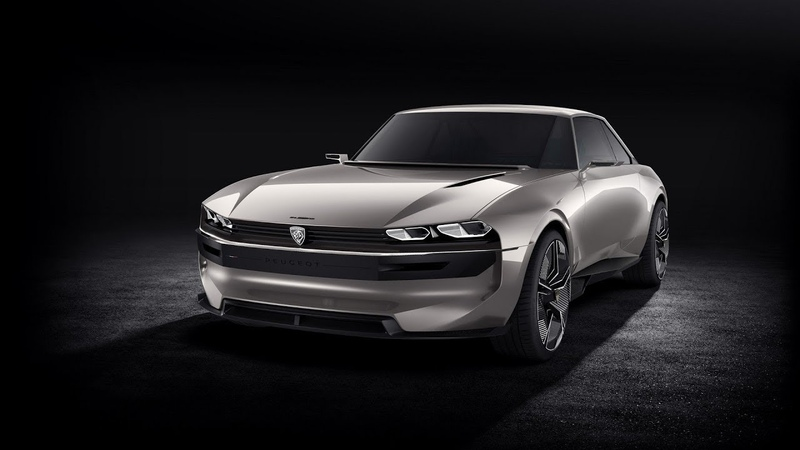 Peugeot e-Legend video debut
