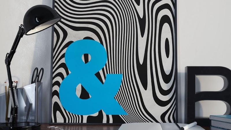 Photoshop Illustrator Tutorial: Distorted Lines Effect