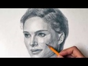 Портрет карандашом Железногорск46 Натали Портман