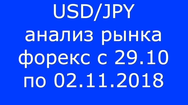 USD/JPY - Еженедельный Анализ Рынка Форекс c 29.10 по 02.11.2018. Анализ Форекс.