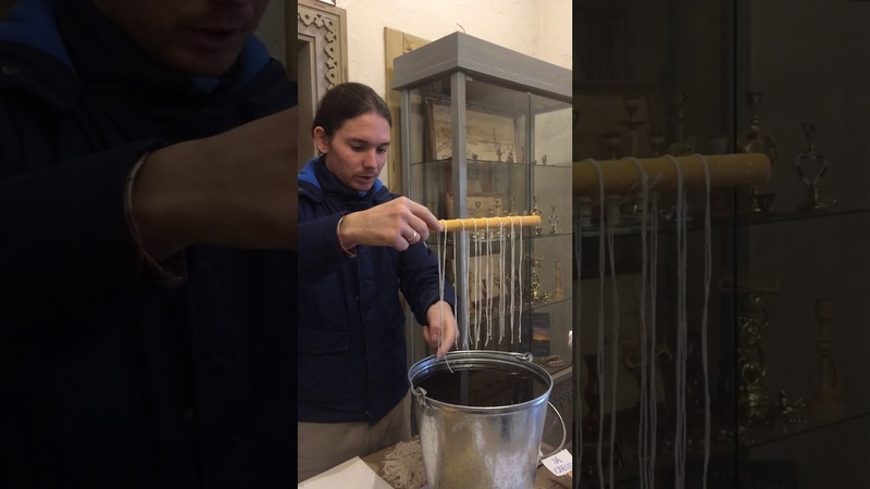 Как делают Маканые свечи