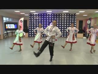 Кевер –чувашский стилизованный танец «Барабан»