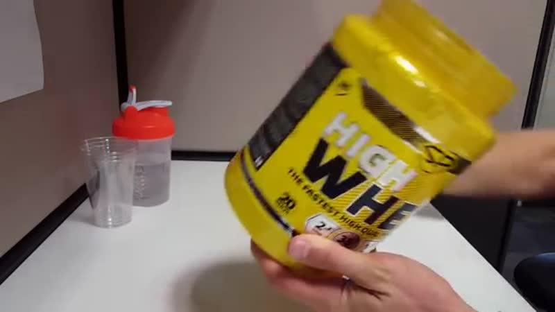Отзыв о Протеин Steel Power Nutrition Fast Whey