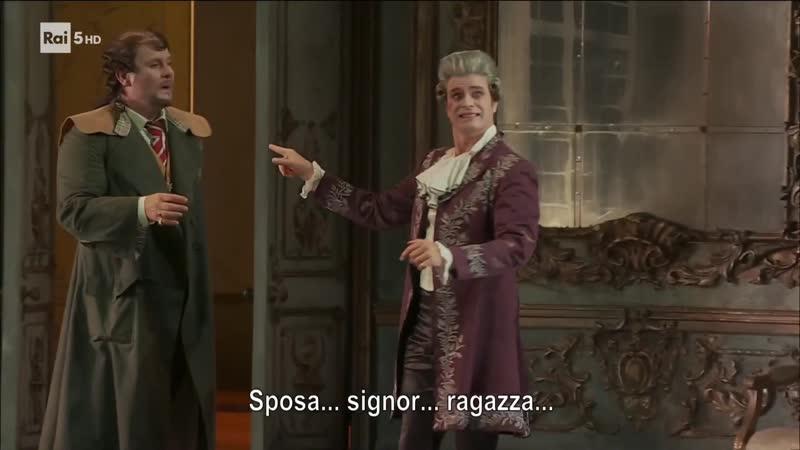 Wolfgang Amadeus Mozart La finta giardiniera Мнимая садовница Milano 2018