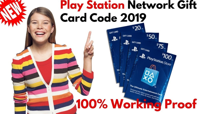 [NEW UPDATE] Play Station Network Gift Card Code, How To Get PNS Code Free 2019🌍