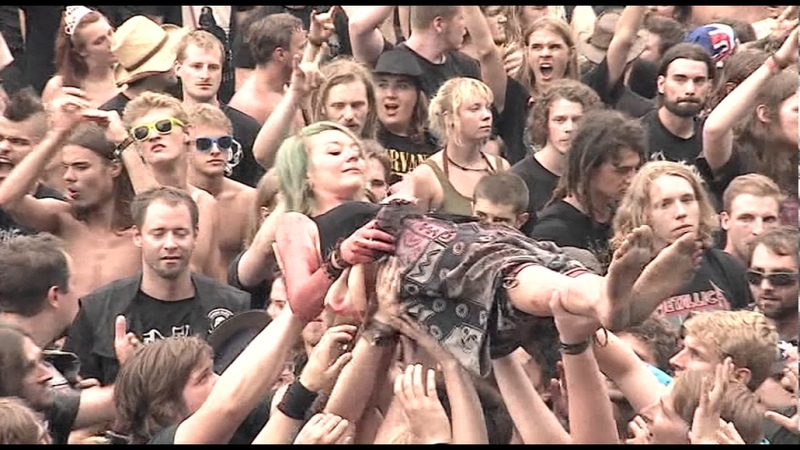 Ensiferum - Two Of Spades (LIVE @ Summer Breeze Open Air 2015)