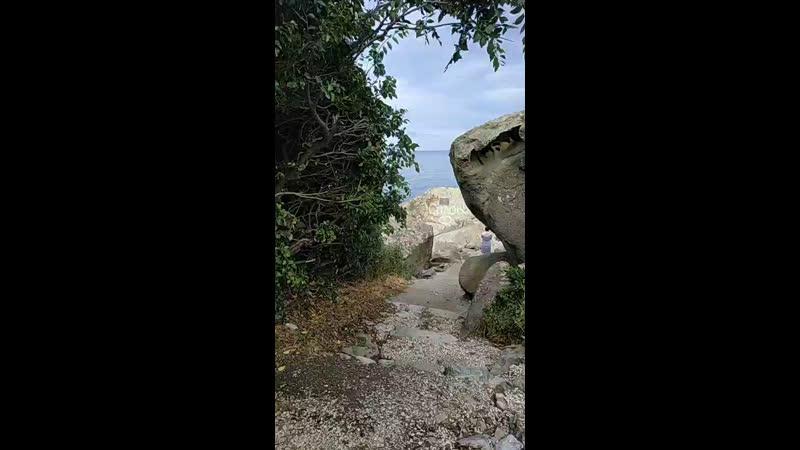 на скале Айвазовского оборудуют смотровую
