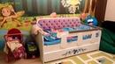 Детский диван кровать - тахта Сирень. Отзыв. Детская мягкая мебель. Интернет магазин Лайтик