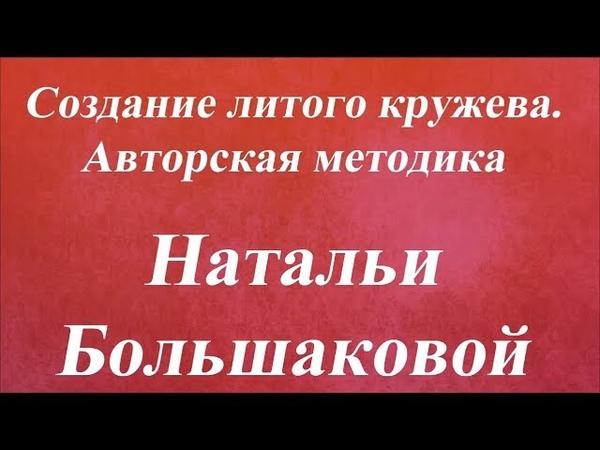 Создание литого кружева Авторская методика Наталья Большакова Университет Декупажа