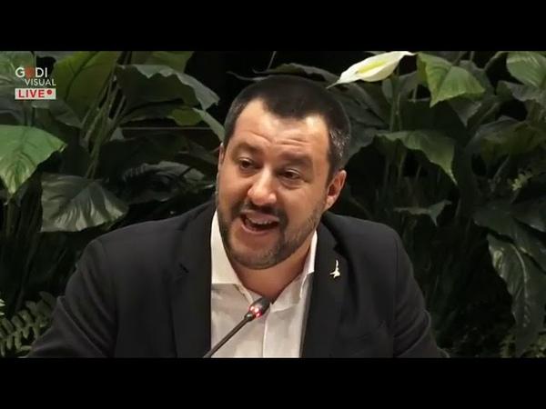 MATTEO SALVINI CONTRO LA VIOLENZA DENTRO E FUORI DAGLI STADI (ROMA, 07.01.2019)