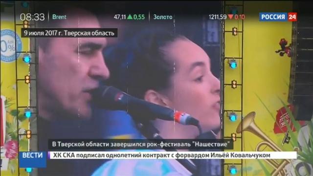 Новости на Россия 24 • Они пережили Нашествие: ежегодный рок-фестиваль завершился