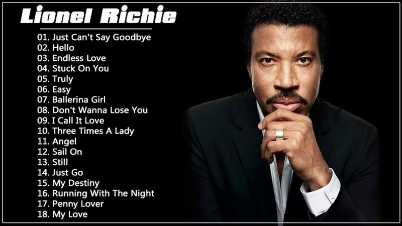 Lionel Richie Greatest Hits - Best Songs Of Lionel Richie
